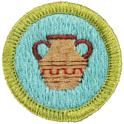 Pottery MeritBadge